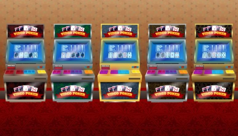 machines de video poker online